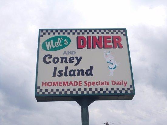 Mel's Diner / or Tom's Coney, Fenton Road, Burton, Michigan.