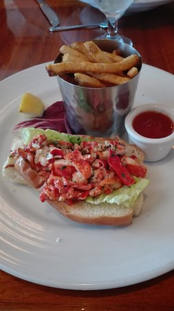 Seafood Peddler: Lobster roll buonissimo