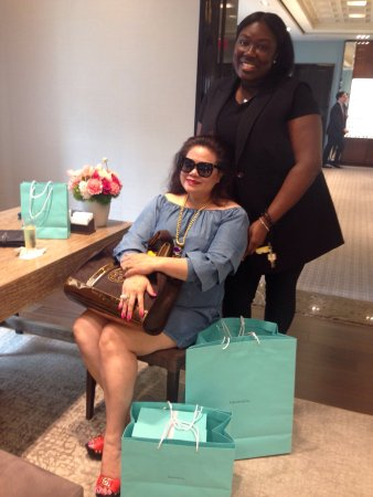 Tiffany & Co. : Thank you Ari ❤️ Thank you Tiffany 5th Ave 👍