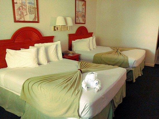 Bar Harbor Motel: Room 240 - beds