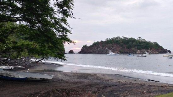 Playa Ocotal, Kosta Rika: View from the restaurant.