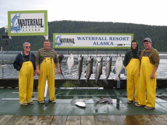 Waterfall Resort Alaska Foto