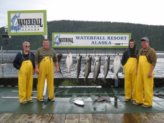 Waterfall Resort Alaska Image