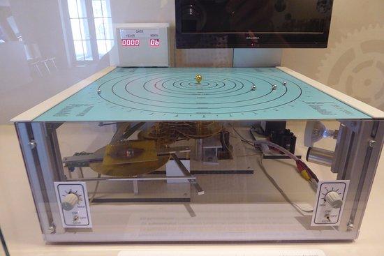 Lier, Belgium: planetarium, showing the gears