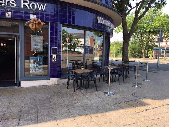 Crewe, UK: Front