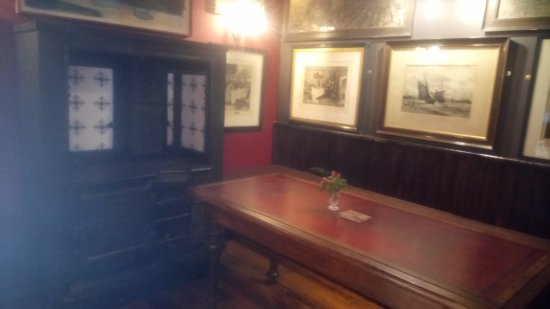 Dalkey, Ireland: The snug with the salvaged range cooker