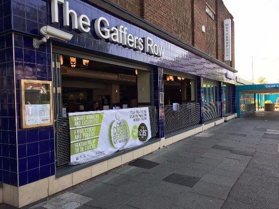 Crewe, UK: Open Side Doors of Raised Area