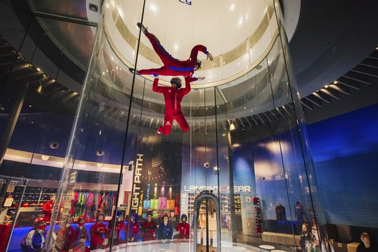 Nottingham, แมรี่แลนด์: Thrill-seekers can add on a high flight to blast up twice as high!