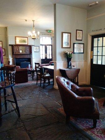 Wickham, UK: Part of the Bar Area