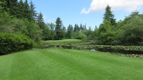Mukilteo, WA: Tough par 3.