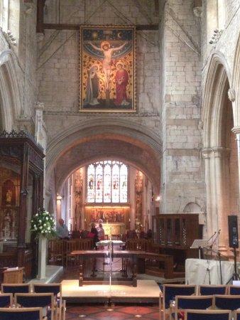 Burford, UK: St John the Baptist church.