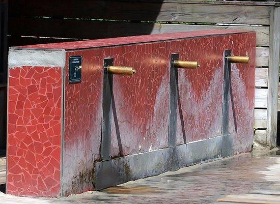 Woluwe-Saint-Lambert, بلجيكا: Douches pour les pieds