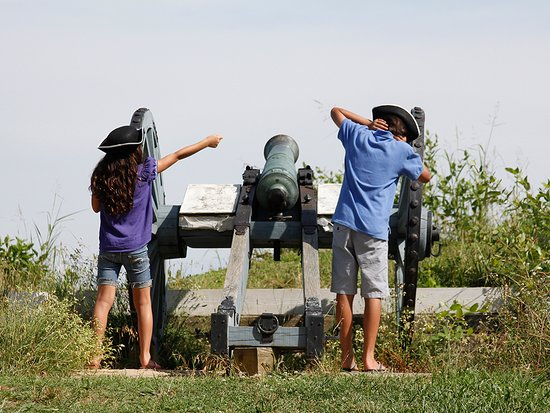 Visit Yorktown Battlefield, part of the Colonial National Historical Park