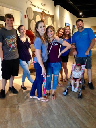 Marco Island Historical Museum: Teens that enjoyed the musem (and us old folks!)