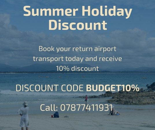 Budget Airport Taxis: Summer Discount