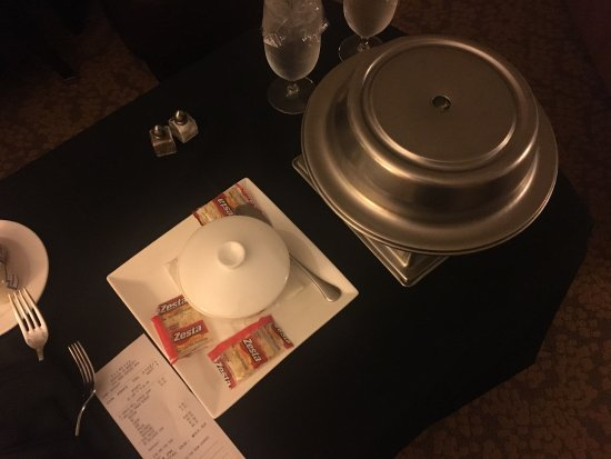 Terrible room service, double charged on bill, slow enhanced