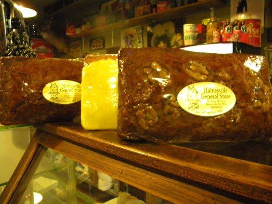 Branchville, NJ: Our homemade Banana Walnut Bread or Lemon Pound Cake