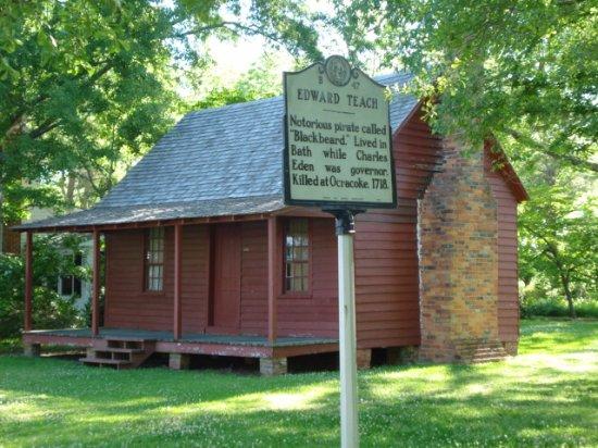 Bath, NC: Blackbeard's House?