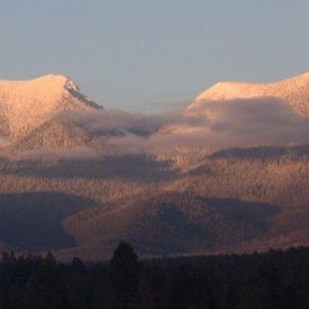 Eureka, MT: A glimpse of the many mountains that surround us.