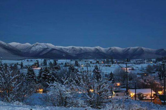 Eureka in winter: A spectacular view!
