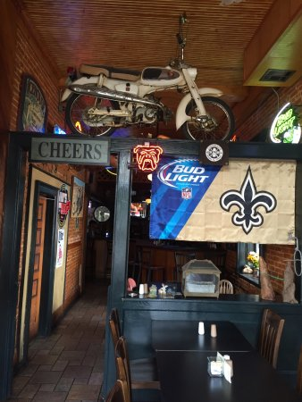 """Natchitoches, Λουιζιάνα: Lunch here...pretty cool """"chill"""" spot"""