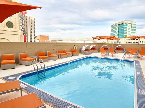 Roof Top Pool Picture Of California Hotel Amp Casino Las