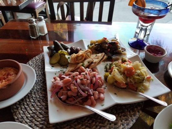 Signature Sampler Picture Of Agora Mediterranean Kitchen West Palm Beach Tripadvisor