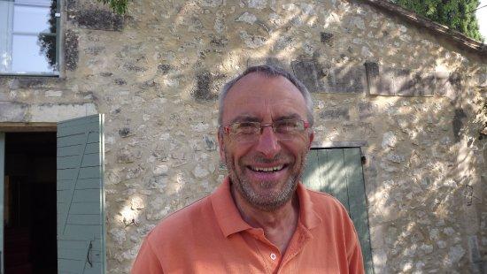 Eygalieres, Frankrike: Owner, Pierre Marlot-Bouteiller