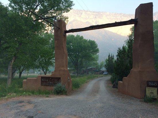 Canon del Rio Retreat & Spa: Entryway