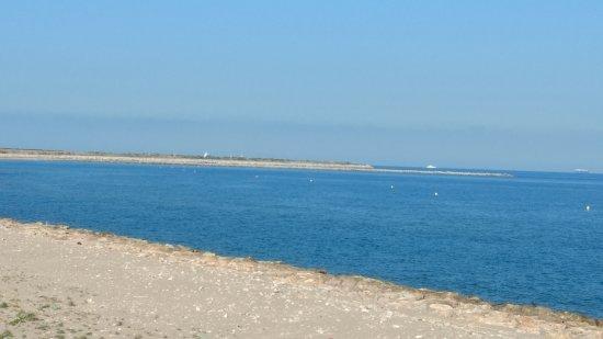 El Prat de Llobregat, Spanje: Playa protegida.