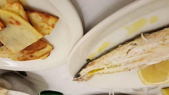 Il Campidano: Spigola con patate