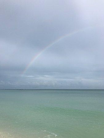 Apollo Condominiums: Rainbows during the storms