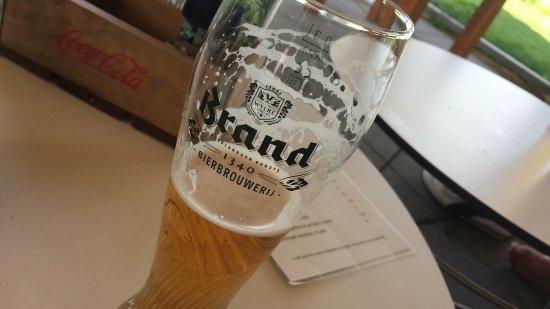 North Holland Province, The Netherlands: Heerlijk brand weizen bier