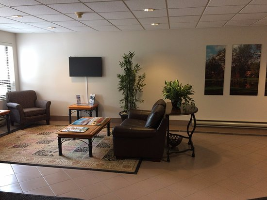 Sackville, Canada: Lobby Guest Lounge