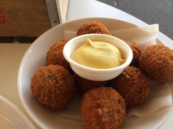 Północna Holandia, Holandia: Top bitterballen met mosterd