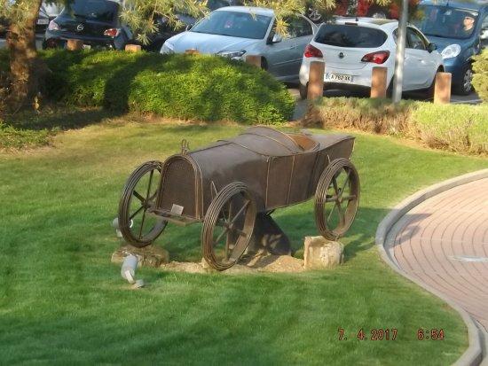 Molsheim, France: dans le parc