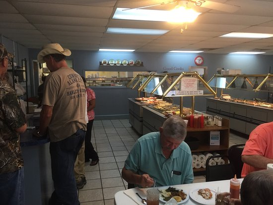 Winnsboro, Carolina del Sur: Buffet - yes please!