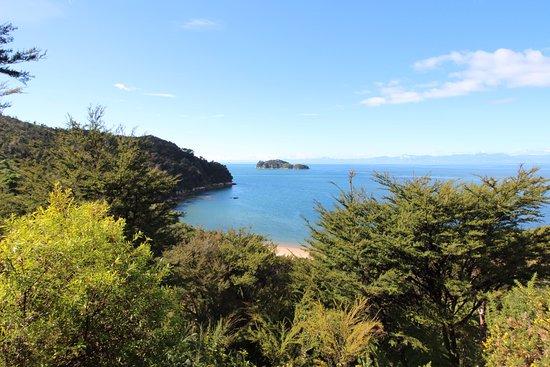 Abel Tasman Coast Track: Vue