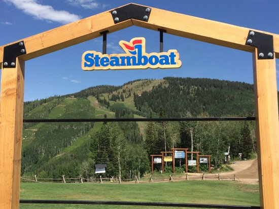 The Steamboat Grand: Top of the gondola