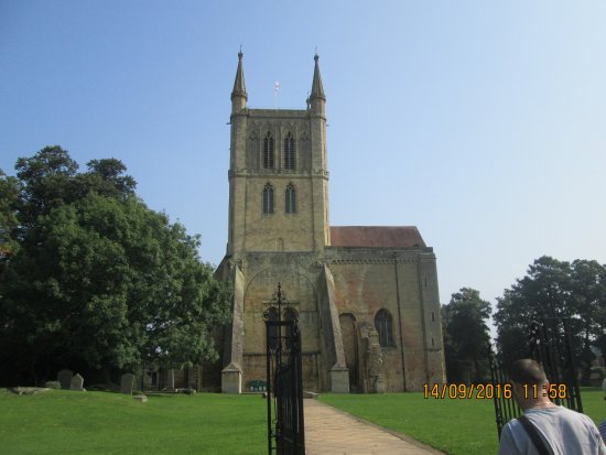 Pershore, UK: View from the front