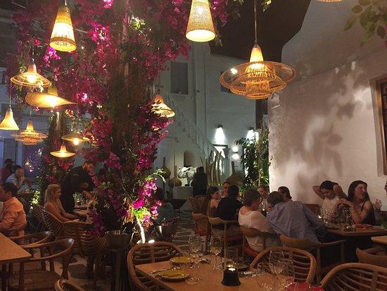 Nikkei mykonos ville restaurant avis num ro de - Mykonos lieux d interet ...