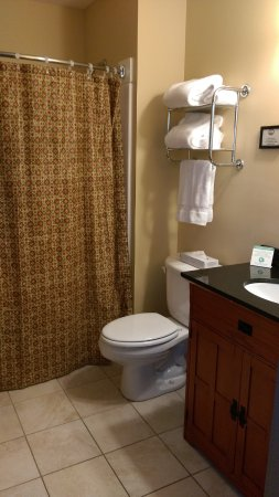 Baldwinsville, NY: Room 201-bathroom