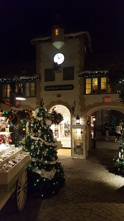 When Is Yankee Candle Village Decorated For Christmas 2020 Bavarian village   Picture of Yankee Candle Flagship Store, South