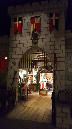 Νότιο Deerfield, Μασαχουσέτη: Entrance to Santa's workshop