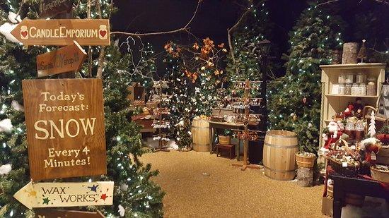 Νότιο Deerfield, Μασαχουσέτη: Christmas display