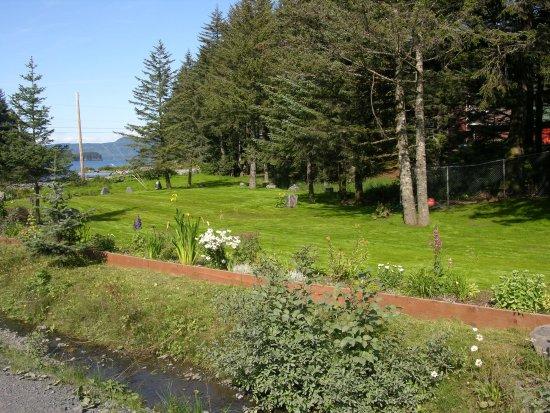 Kodiak, AK: yard and creek