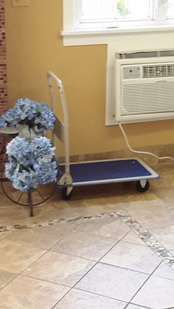 Ocean Manor Hotel: Their idea of a cart