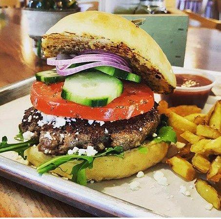 Boerne, TX: Lamb Burger