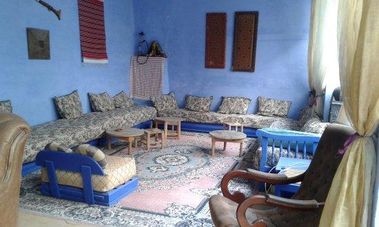 Dar Omar Khayam : Sala caffè nel cortile