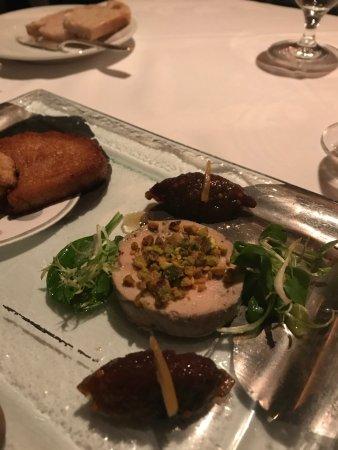 Restaurant Gary Danko: foie gras